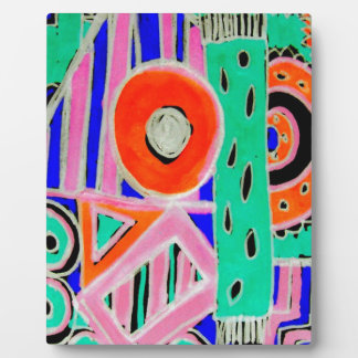 Snazzy Abstract Design Products Plaque