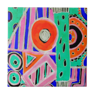 Snazzy Abstract Design Products Tile