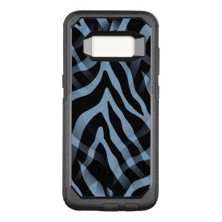 Snazzy Sky Blue Zebra Stripes OtterBox Commuter Samsung Galaxy S8 Case