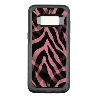 Snazzy Strawberry Pink Zebra Stripes OtterBox Commuter Samsung Galaxy S8 Case