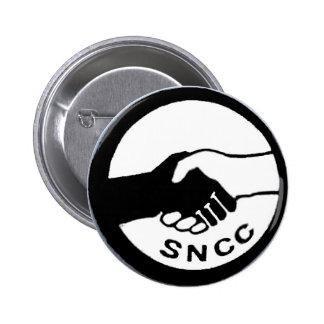 SNCC 6 CM ROUND BADGE