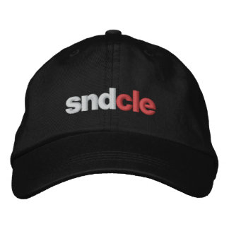 SND Cle hat, black Embroidered Hat