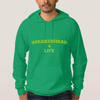 sneakerhead 4 life fleece sweater