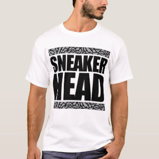 Sneakerhead Black Out Cement T-Shirt