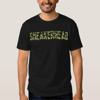 Sneakerhead Camo Tee Shirts