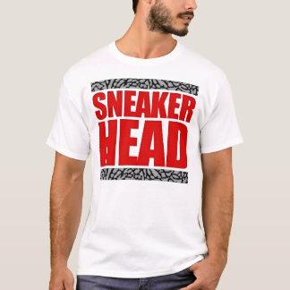 Sneakerhead Fire Red Cement T-Shirt