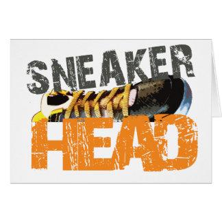 SNEAKERHEAD GREETING CARD
