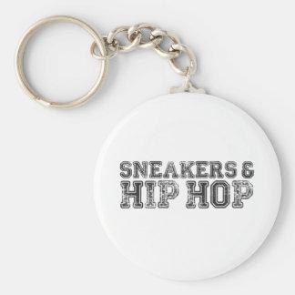 Sneakerhead Slogan Print Key Ring