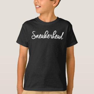 Sneakerhead Slogan Print T-Shirt