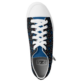 Sneakers Jimette Design blue red and black
