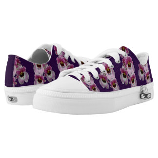 Sneakers - Pansy Orchid