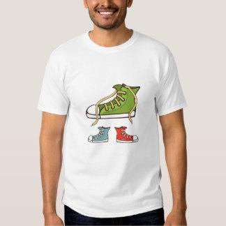sneakers tee shirt for men