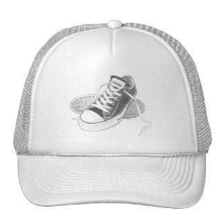 Sneakers Trucker Hat Art