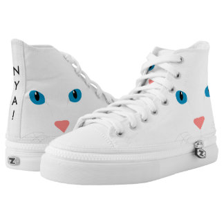 Sneakers White Cat type boot