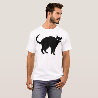 Sneaky Cat Illustration T-Shirt