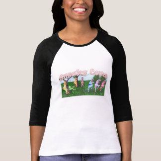 Sneaky Cows Being Sneaky Tshirt