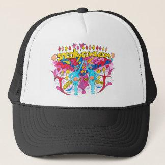 Sneaky Cowz Dot Com Trucker Hat