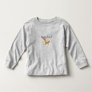 Sneaky Fox Toddler Toddler T-Shirt