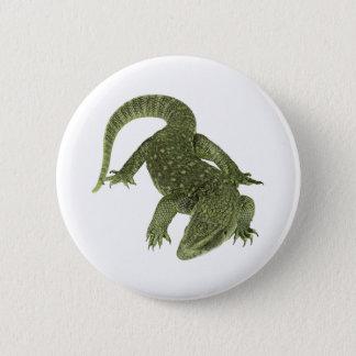 Sneaky Galapagos Iguana 6 Cm Round Badge