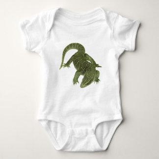 Sneaky Galapagos Iguana Baby Bodysuit