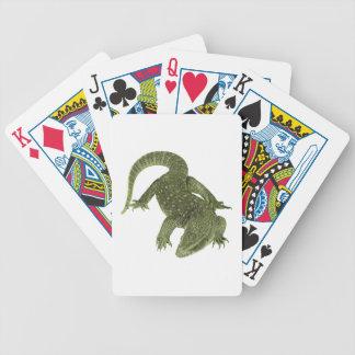 Sneaky Galapagos Iguana Bicycle Playing Cards