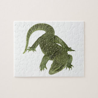 Sneaky Galapagos Iguana Jigsaw Puzzle