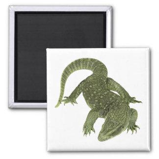 Sneaky Galapagos Iguana Magnet