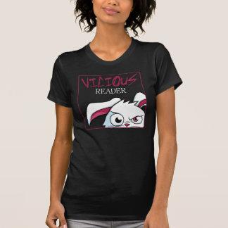 """Sneaky Peek"" Women's Layered Tee- Black & White T Shirt"