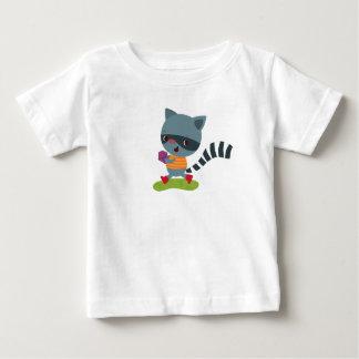 Sneaky Raccoon Bandit Baby T-Shirt