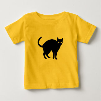 Sneaky Shadow Cat Baby Tee