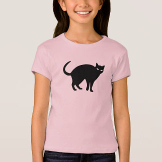 Sneaky Shadow Cat Kids' T-shirt