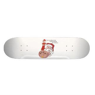 Sneaky Sneaky Santa Custom Skate Board