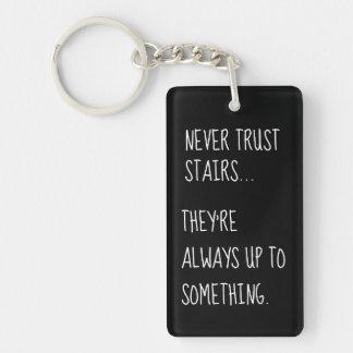 Sneaky Stairs Key Ring