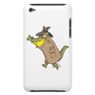 sneaky thug croc crocodile cartoon character iPod Case-Mate cases