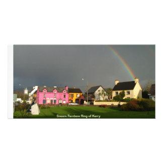 Sneem Rainbow ring of Kerry Photo Greeting Card