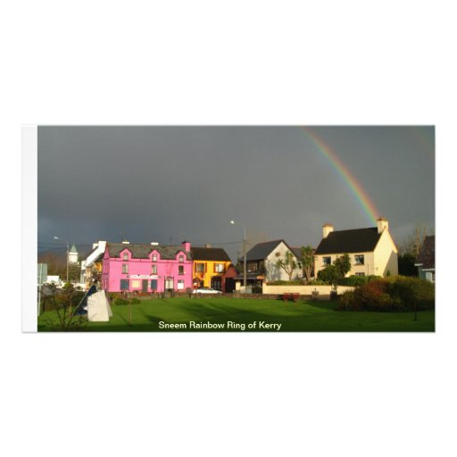 Sneem Rainbow ring of Kerry Photo Greeting Card