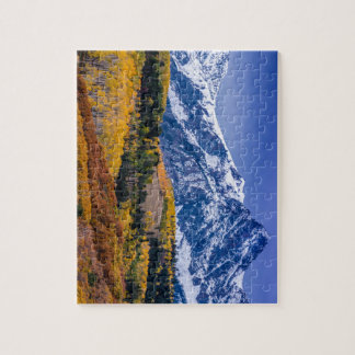Sneffels Range Fall Sunrise - Colorado Jigsaw Puzzle