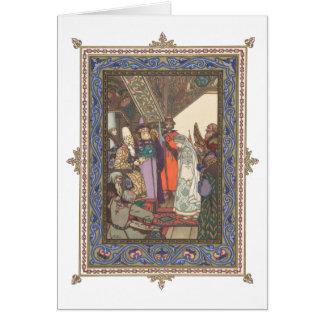 Snegurochka before Tsar Berendei Card