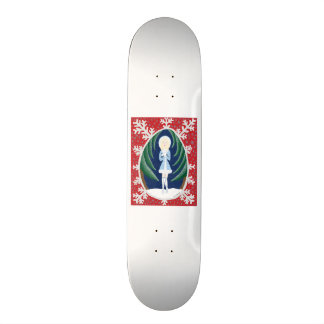 Snegurochka (Fairy Tale Fashion #3) Skateboard Deck