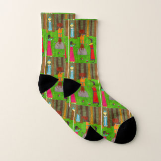 Snegurochka Socks