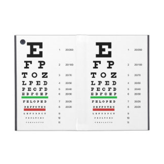 Snellen Eye Chart Covers For iPad Mini