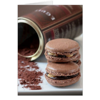 Snickers Macarons Card