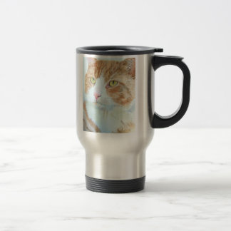 Snickers the Cat Travel Mug
