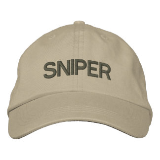 Sniper Embroidered Hat