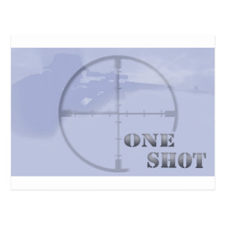 sniper postcard