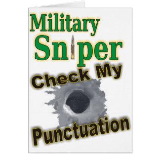 """Sniper """"Shooter"""" Card"""