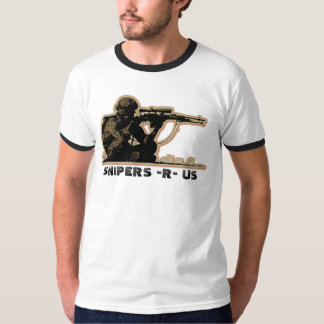 SNIPER SITTING by SNIPERS -R- US T-Shirt
