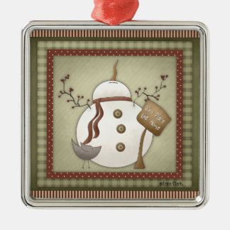Sno Place Like Home Snowman Ornament