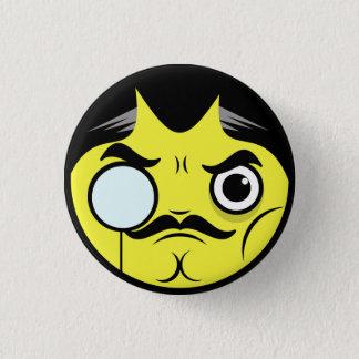 Snob Face 3 Cm Round Badge