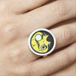 Snob Face Ring